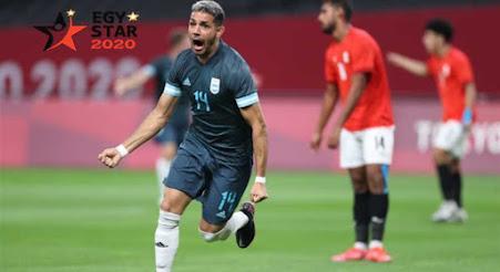 فرص تأهل منتخب مصر لربع النهائي في اولمبياد طوكيو بعد الخسارة من الارجنتين
