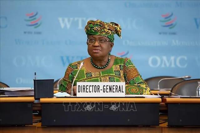 Director General of the World Trade Organization (WTO) Ngozi Okonjo-Iweala