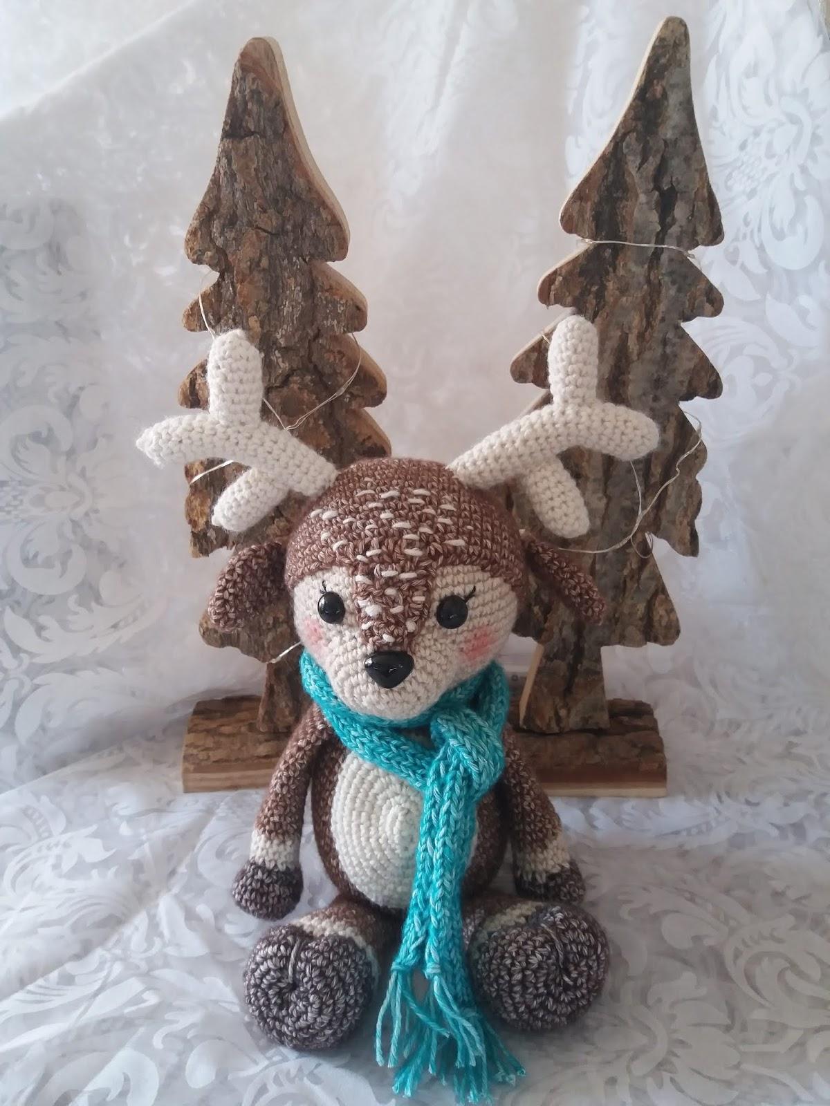 Knuffels Haken Is Leuk Kerst Cal Hertje Noël
