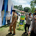 Sukandar Tinjau Pos Pengamanan Lebaran di KM.12