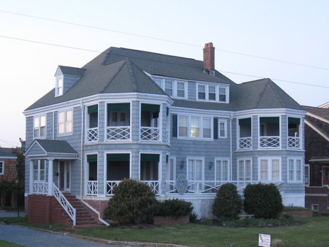 Many Of The Hotels On Eastern Beach Avenue Which Runs Parallel To Cape May Were Built During Early Or Mid 20th Century Kate Mccreary House