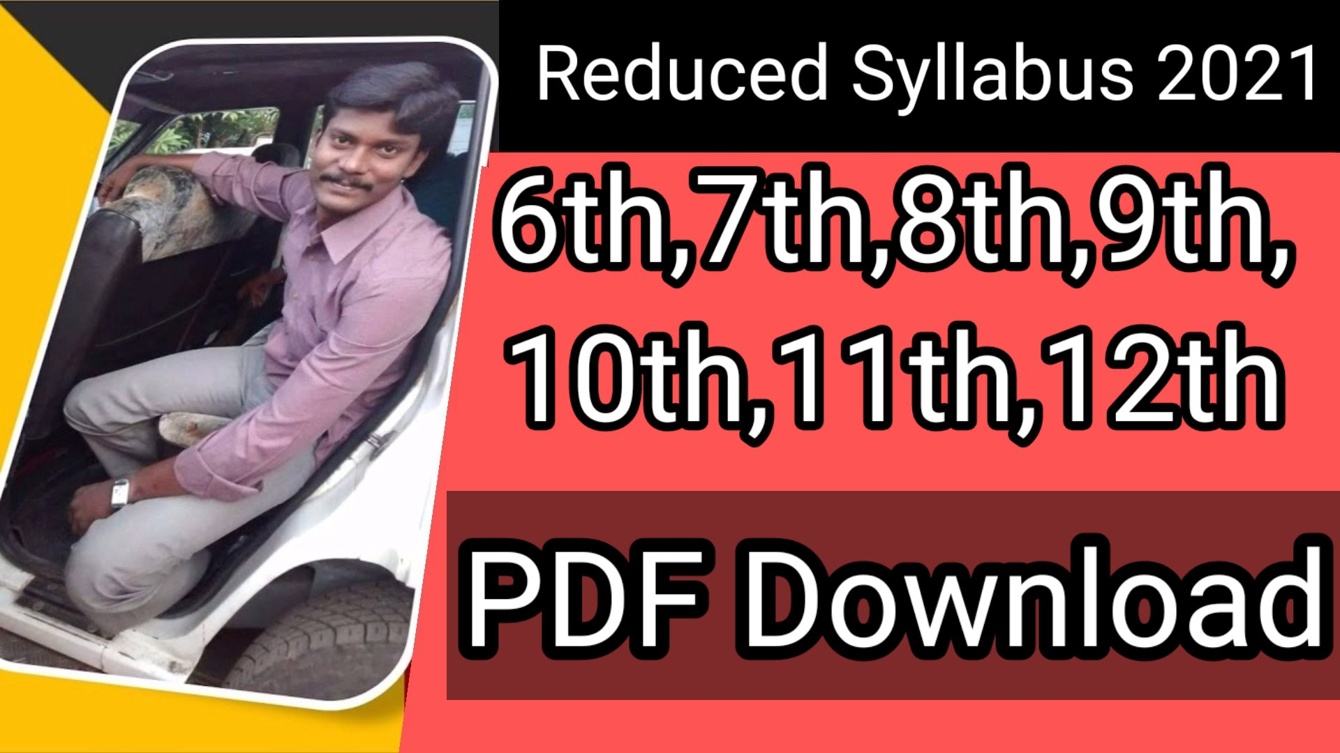Reduced syllabus, Guide,Study materials,Model Question papers PDF Download 2021