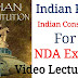 Indian Polity For NDA Exam, UPSC NDA Exam