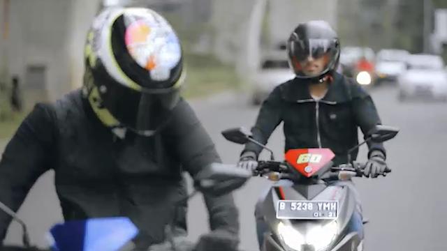 Ini Dia Kegarangaan Suara Motor Rossi Dan Uji Nyali Rossi di Kemacetan Jakarta