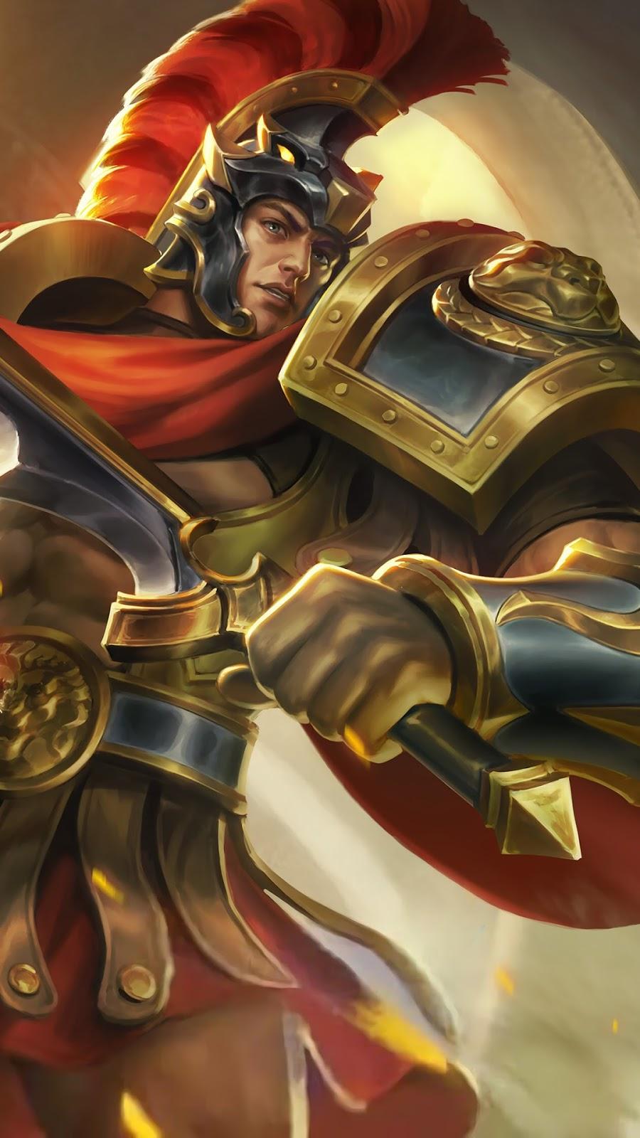 Wallpaper Lapu-Lapu Imperial Champion Skin Mobile Legends HD for Mobile