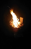Feuer Wintersonnenwende Bischleben