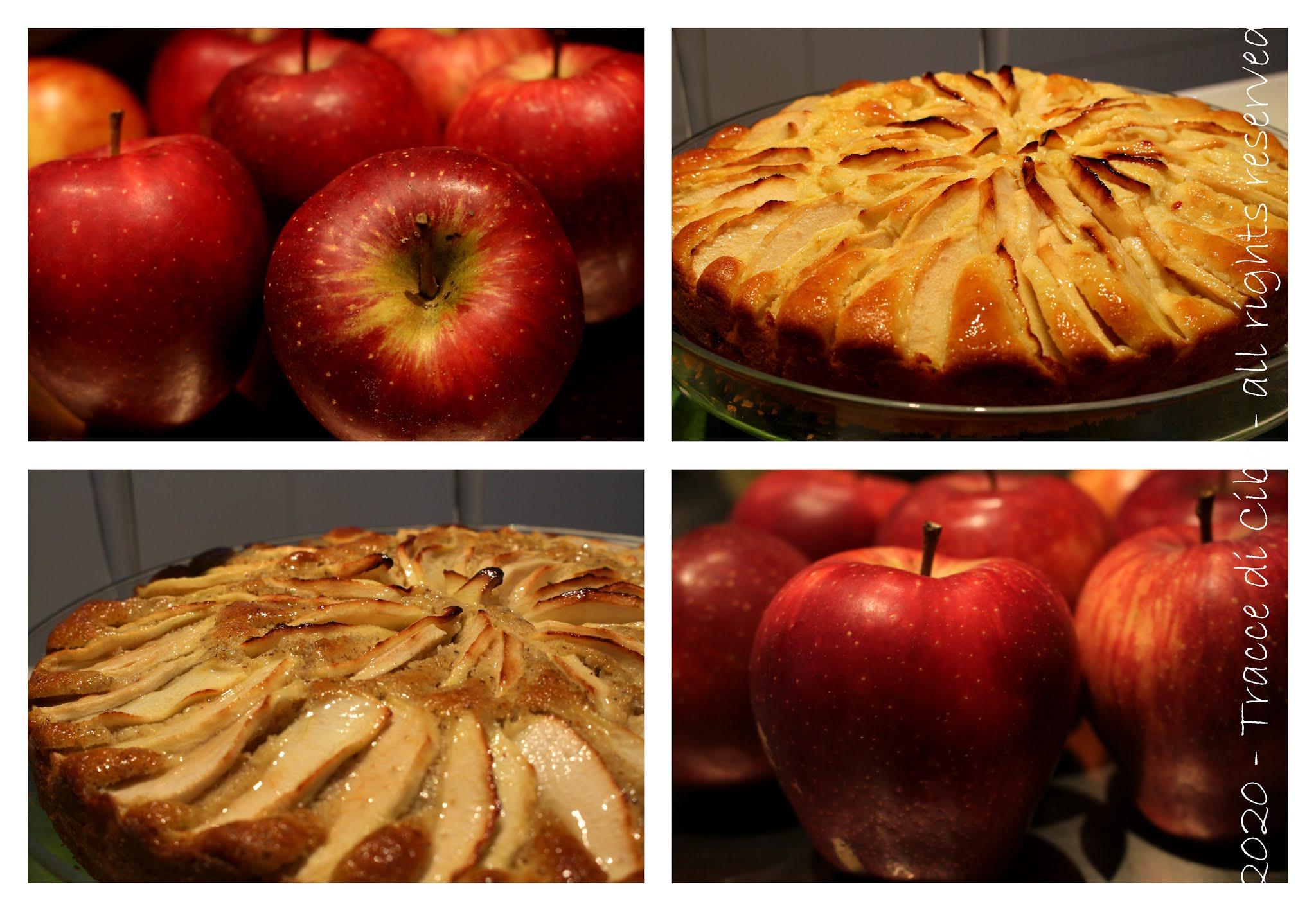 torta di mele, grano saraceno