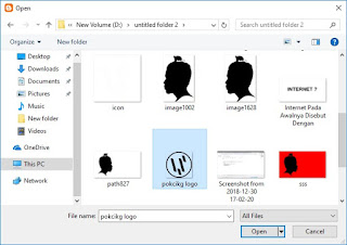 Gambar Cara Mengubah atau mengganti Icon Blog Pada Menu Tab 5