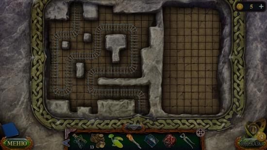 расставляем пути в мини игре в игре затерянные земли 5
