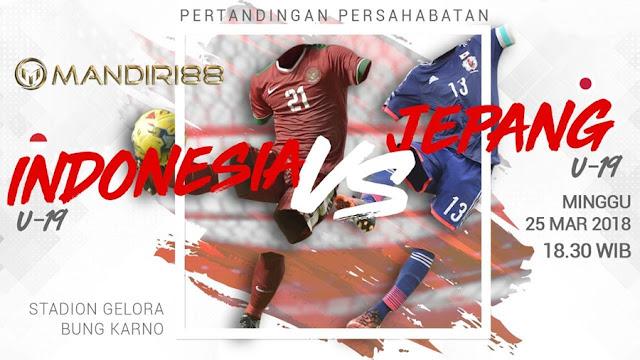 Prediksi Indonesia U-19 Vs Jepang U-19, Minggu 25 Maret 2018 Pukul 18.30 WIB