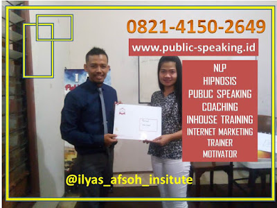 LEMBAGA WORKSHOP PUBLIC SPEAKING SDM TERBAIK INDONESIA
