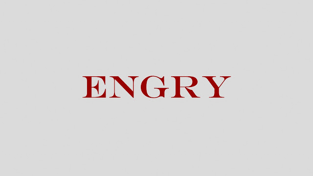 Шрифт Engry (кириллица)