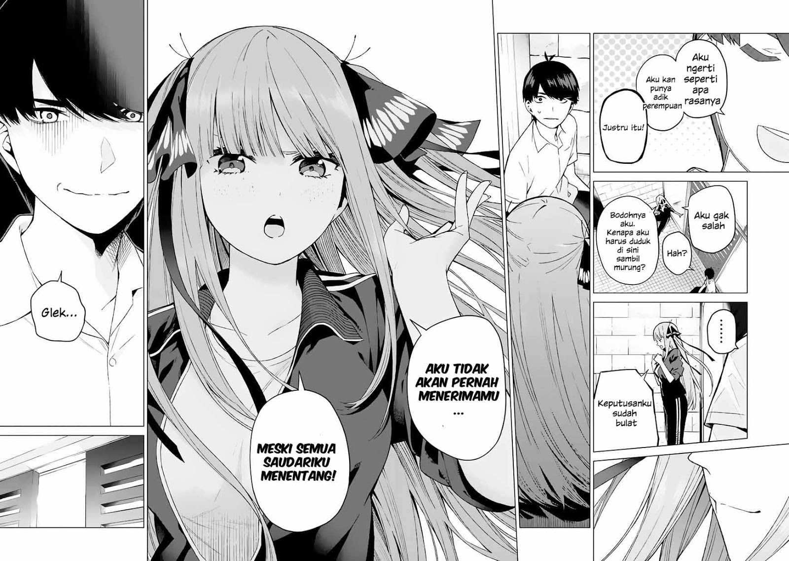 Baca Manga Go-toubun No Hanayome Chapter 6 Bahasa Indonesia