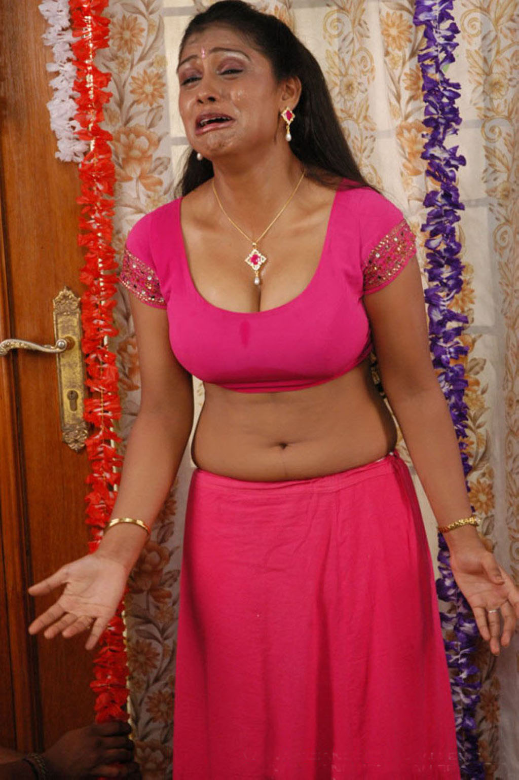 Indian Actress Masala Pics Blouse-6626