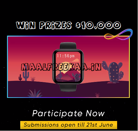 Create Wallpaper and Win Free Prizes $10000 UD