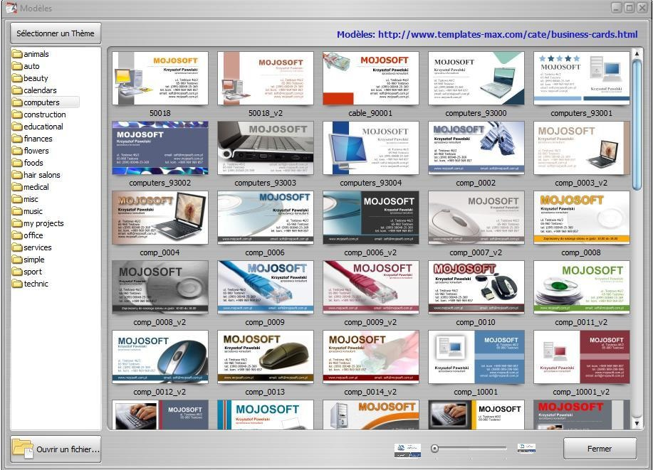 Businesscards Mx One2up Images - Card Design And Card Template