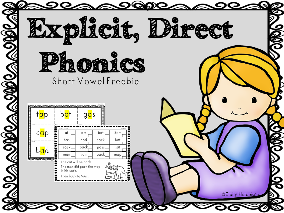 Curious Firsties Explicit Phonics With Freebie