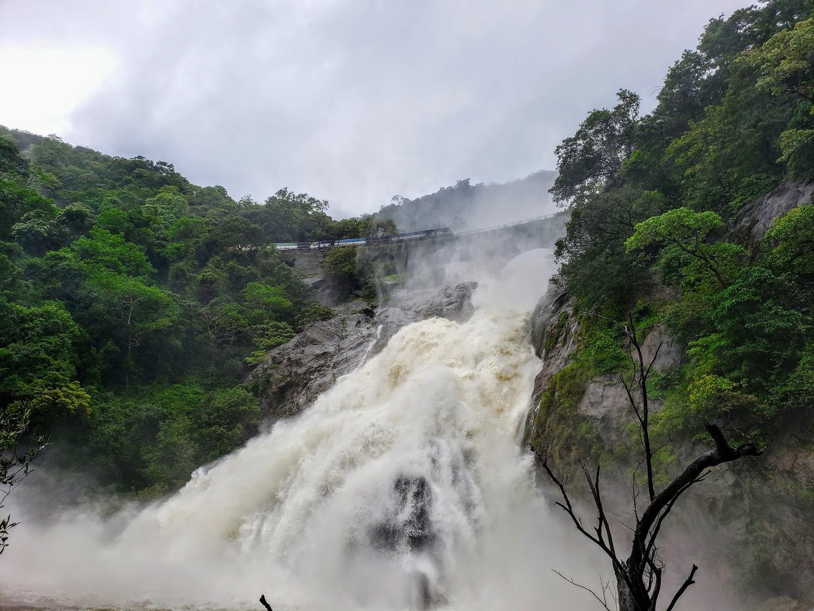 20 kms Trekking At Dudhsagar Falls, Goa In Monsoon Cover