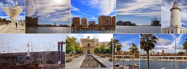Celebrate the New Year in Malaga: Seaside Promenade in Málaga, Spain on New Year's Day