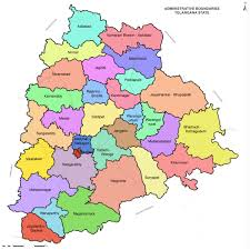how many districts are there in telangana