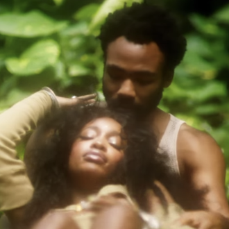 "SZA Gets Intimate With Donald Glover in Her New Video for ""Garden"""
