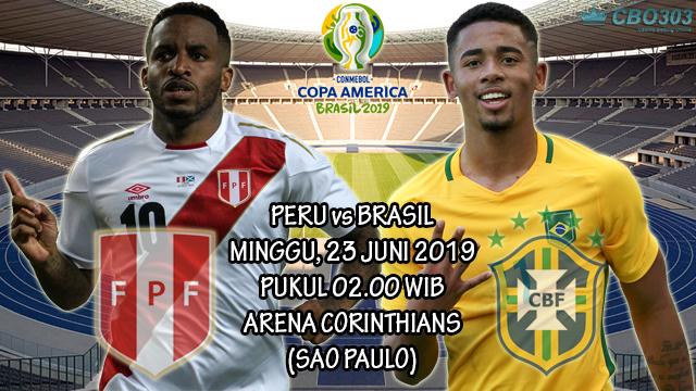 Prediksi Copa America Peru vs Brasil (23 Juni 2019)