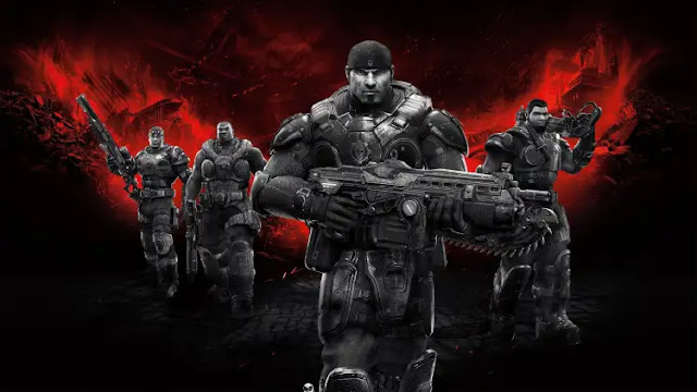 لعبة GEARS OF WAR