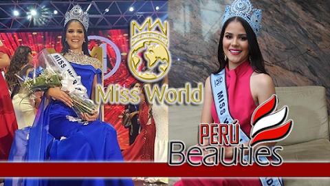 Maria Auxiliadora Idrovo es Miss World Ecuador 2019