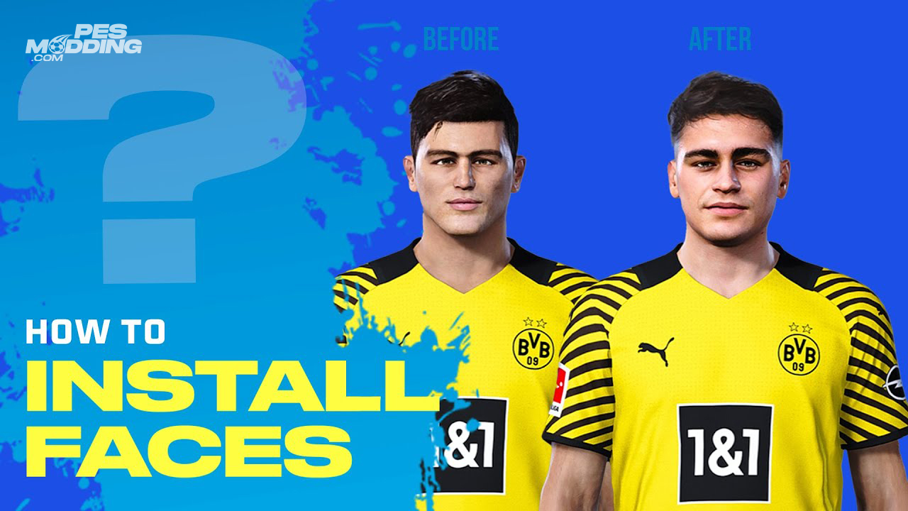 How To Install Pes 2021 - 2020 Faces (Sider / CPK) [PC]