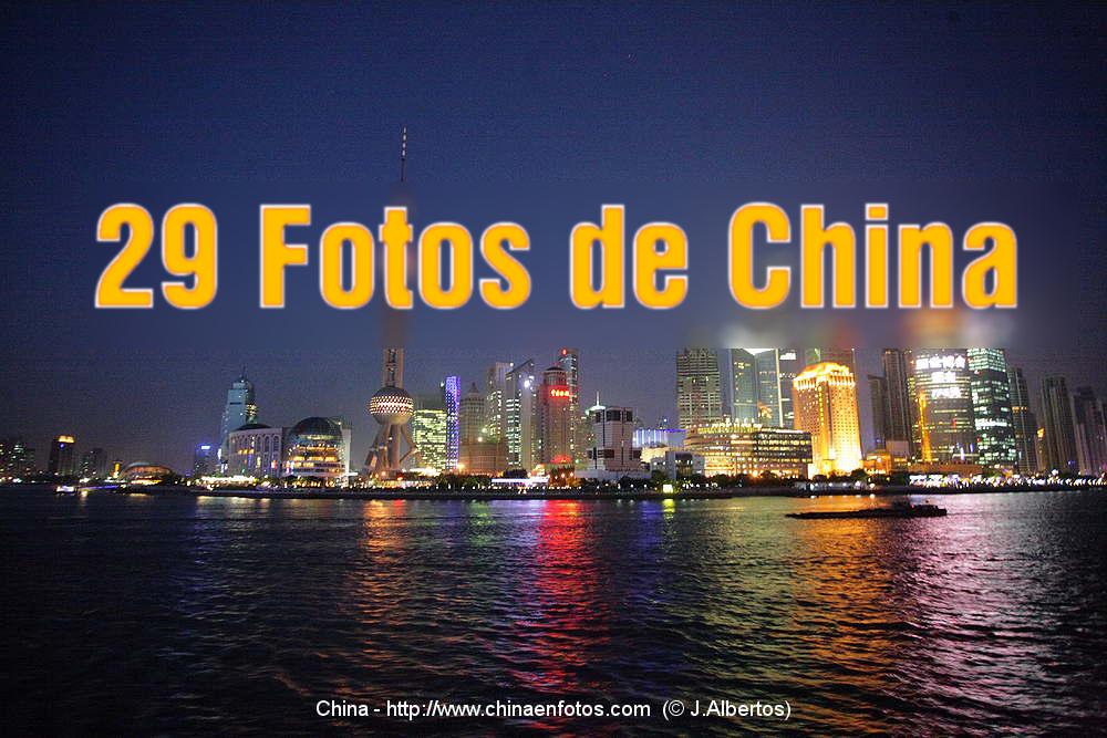 29 Fotos de China