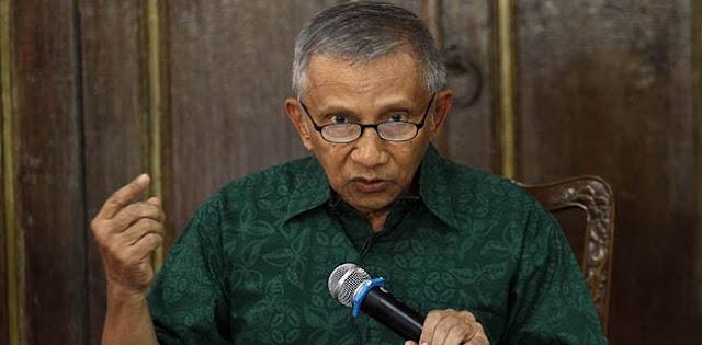 Amien Rais: Saya Melihat Pak Jokowi Terbukti Tidak Kompeten Jadi Presiden