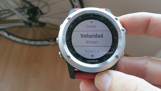 garmin fenix 3 calibrar footpod