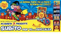 Logo Epifania 2020 in regalo la Maxi Calza o Cappello dell'Elfo