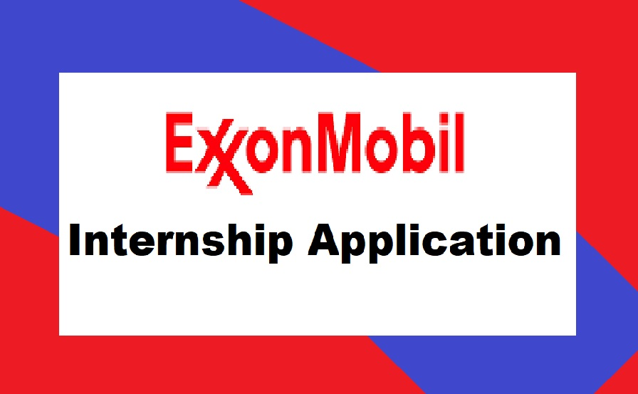 ExxonMobil Internship 2021