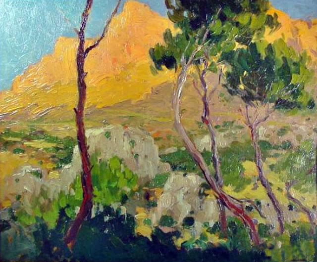 Joaquín Terruella Matilla, Paisajes de Mallorca, Mallorca en Pintura, Mallorca Pintada, Paisaje de Mallorca