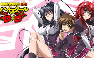 High School DxD - Anime Action Fantasi Penuh Oppai