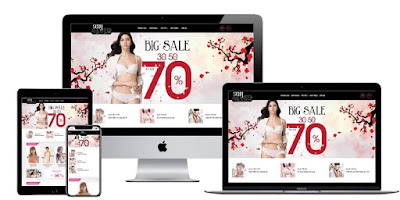Beautiful sexy fashion sales template free download