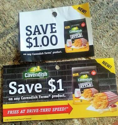 Save $1 on Cavendish Fries.