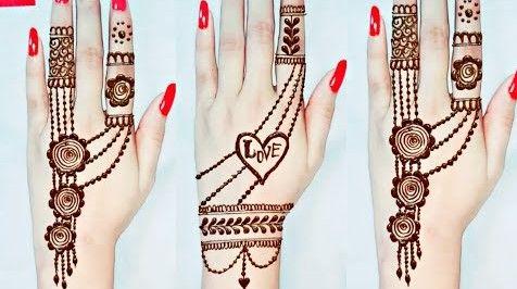 New Jewellery Mehndi Design Back Hand 2020