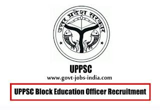 UPPSC Block Education Officer Recruitment