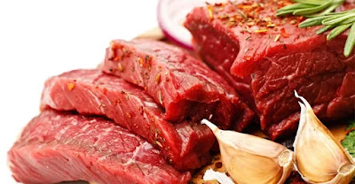 How much beef or mutton is safe to eat a day?