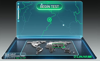 PTCL Speed Test | We Want Change
