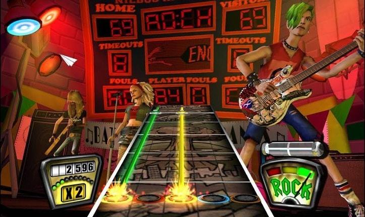 game ps2 terbaik - Guitar Hero