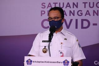 Gubernur DKI Jakarta Kembali Perpanjang PSBB Transisi