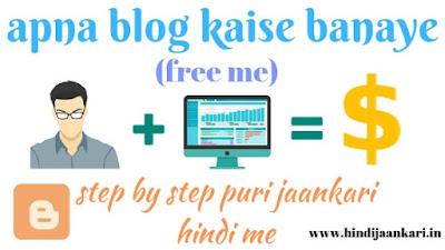blogger par apna blog kaise banaye free me