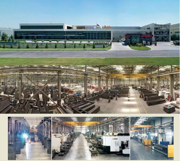 hình ảnh xưởng gia công sản xuất máy chấn tôn thuỷ lực Baykal