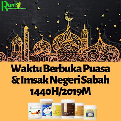 Waktu Berbuka Puasa Dan Imsak Sabah 2019