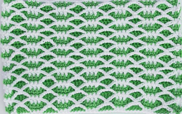 5 -Crochet Imagen Puntada combinada de otoño a crochet y ganchillo por Majovel Crochet