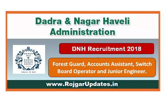 Dadar and Nagar Haveli Recruitment 2018