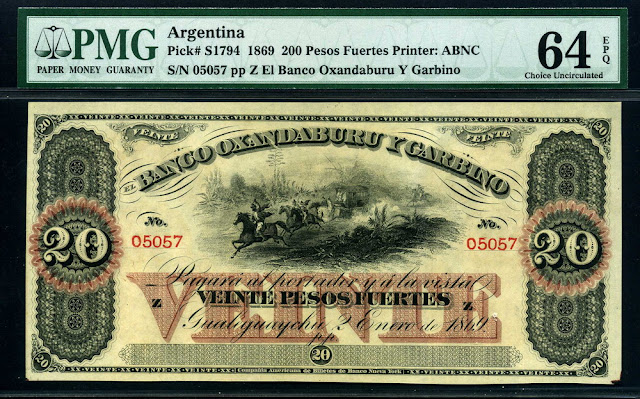 Argentinian Pesos Fuertes money currency banknote